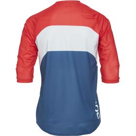 POC Essential Enduro 3/4 Light Jersey Men prismane multi red